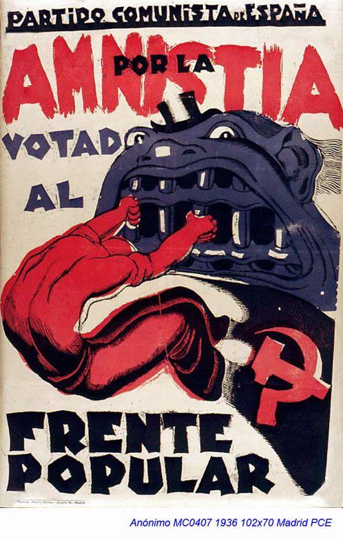 Spain - 1936. - GC - poster - Bestiario