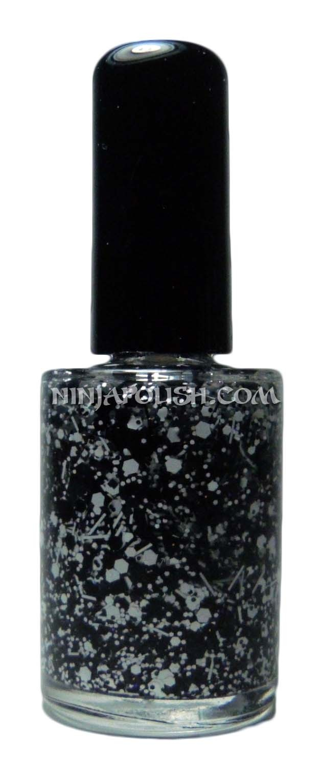 Ninja Polish: Sticks ' Stones by Cover Band Lacquers: The Dot, Bands Lacquer, Covers Bands