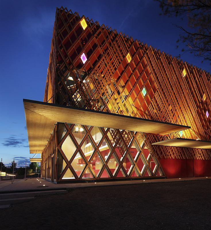 Jean-Claude Carrière Theatre by A+ARCHITECTURE