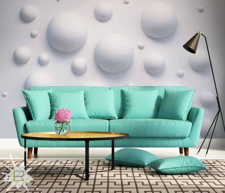 Wnętrza, Fototapety 3D - Kule - Fototapeta 3D od LemonRoom