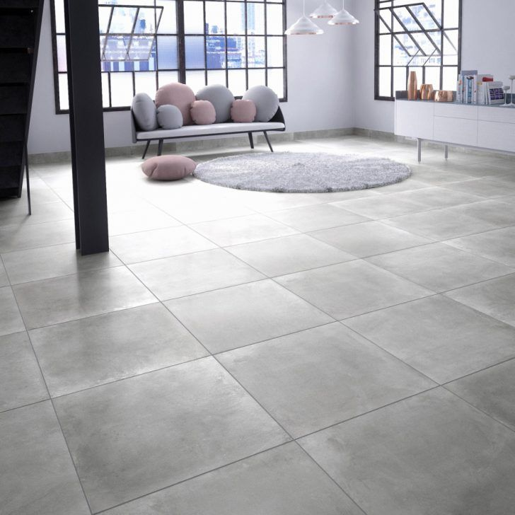 Carrelage Gris Clair Effet Beton Flooring Pine Dining Table Tile Floor