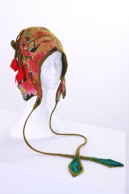 Hat made in Judit Pocs hat workshop