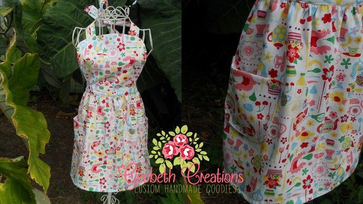 Childs retro style apron.