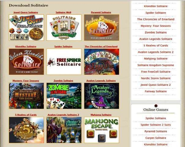 http://www.2solitaire.com | Download free solitaire games for PC - Collection of free solitaire games for pc and android. Popular solitare games to play online: spider, klondike, pyramid etc.