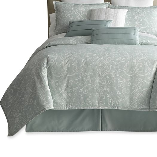 Royal Velvet Beacon Mint 7 Pc Comforter Set Accessories Jcpenney For The Home