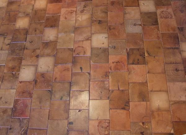 End Grain Cobble Block Wood Tile Flooring - 61 Best Wood Block & Wood Brick Flooring Images On Pinterest