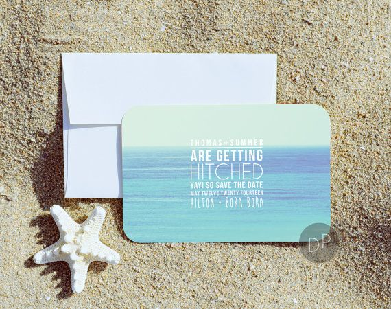 30 best images about Save The Dates on Pinterest | Starfish ...