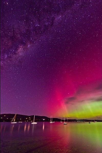 Aurora Borealis, Australia