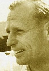 Erich Karl Warsitz, the first pilot to fly a jet powered aircraft, the Heinkel He 178 on 27th August 1939.