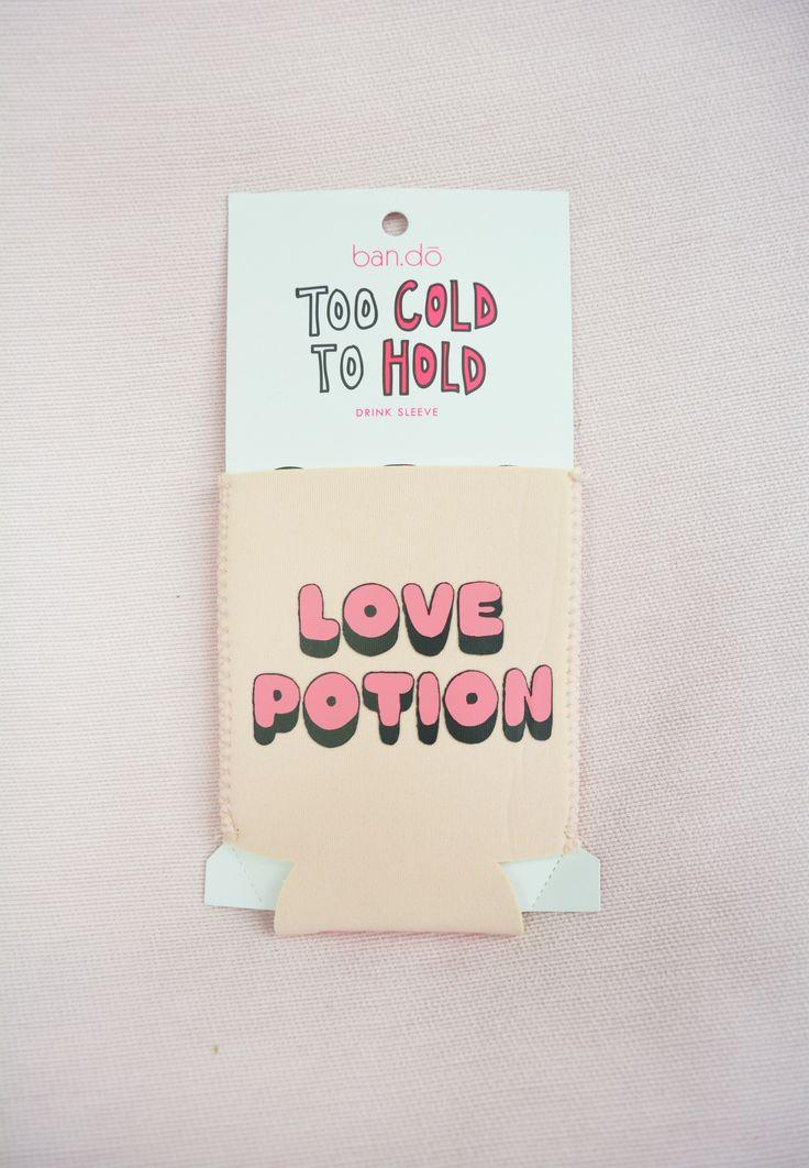 love potion drink sleeve