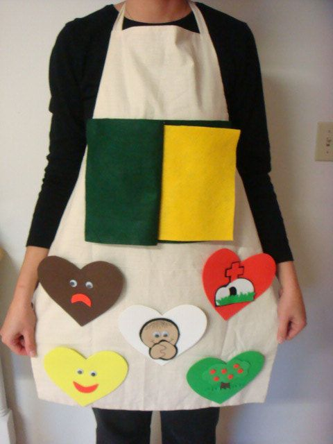 ABC of Salvation Story Time Apron by NanaMomMe on Etsy