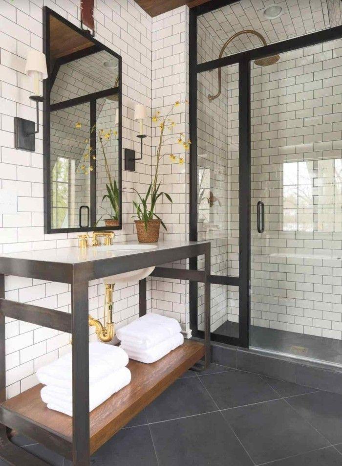 Die besten 25+ schwarze Badezimmer Ideen auf Pinterest Beton - modernes badezimmer design