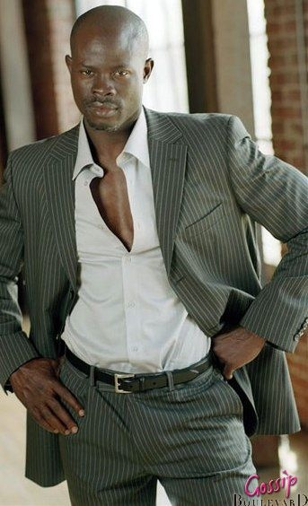 Djimon Hounsou, he is just a good looking man.