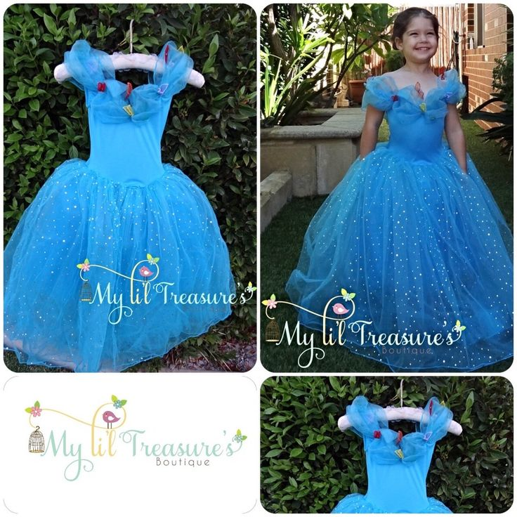 This amazing dress is inspired by the new Cinderella movie