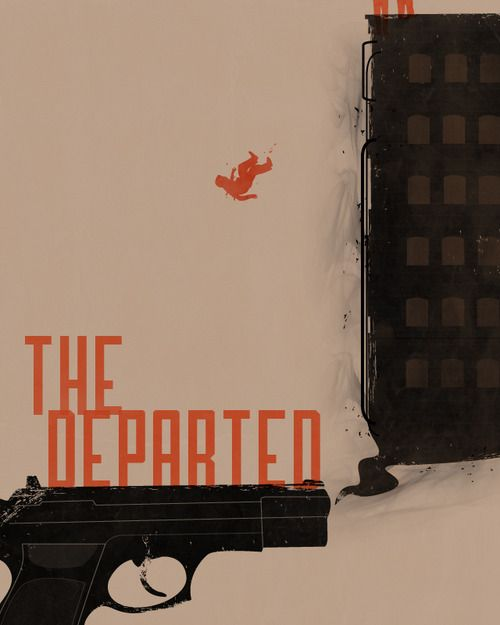 The Departed by Beware1984 #movies #posters