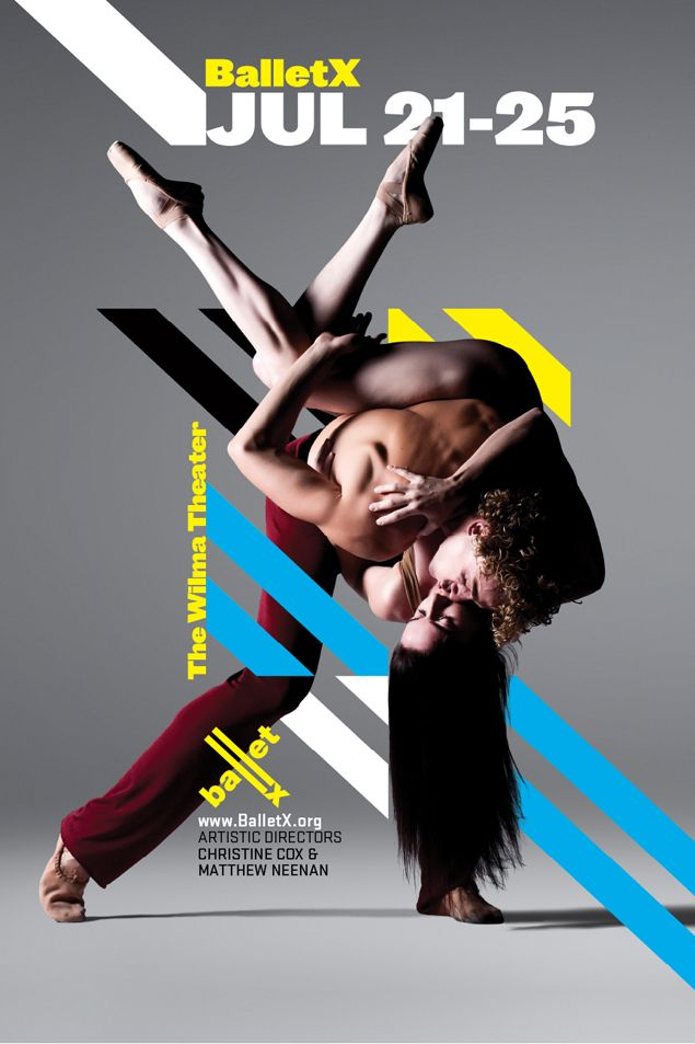 Ballet X poster by Modern Good