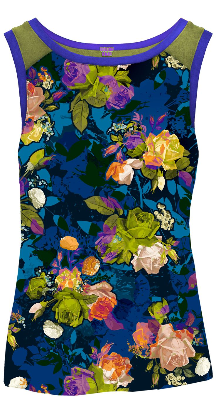 """Design """"Roses"""" for womens outerwear"""
