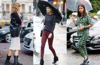Cara Mix Match Pakaian Saat Musim Hujan
