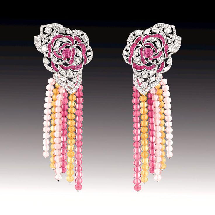 Chanel Camélia Gourmand earrings