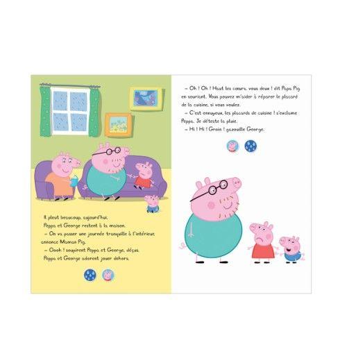 Livre Le grand livre son de Peppa pour enfant de 2 ans à 4 ans - Oxybul éveil et jeux