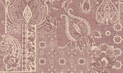 Tapet vinil mov floral PC 2706 Grand Deco Persian Chic