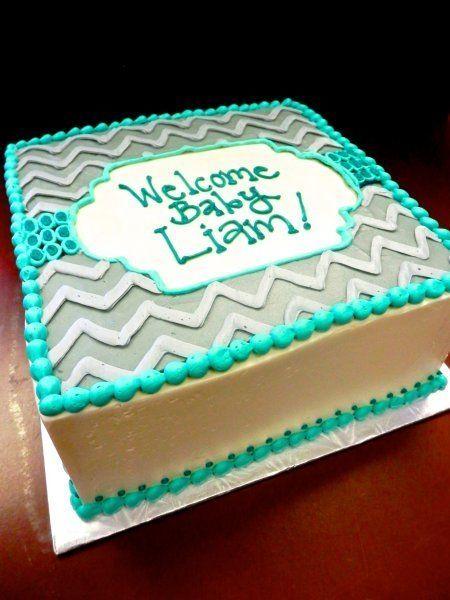 Cake Designs No Fondant : 17 Best ideas about Chevron Baby Showers on Pinterest ...