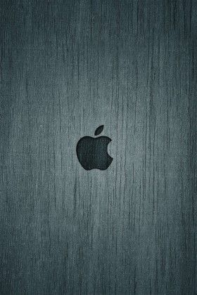 Apple Wood iPhone 5 (s) (c) Wallpaper >>> Click for original size <<<