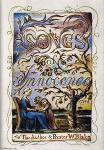 Songs of Innocence (Title page) - (William Blake)