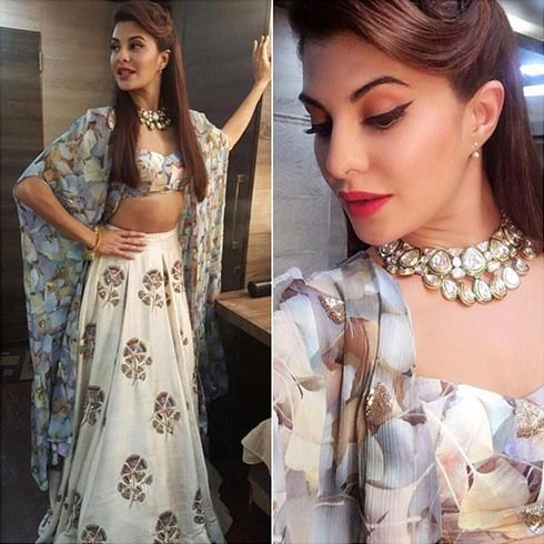 Jacqueline Fernandez in Arpita Mehta Autumn Winter 2016