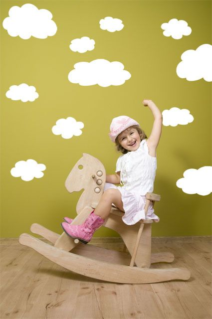 26 best ideas about cloud wall decals mural ideas on for Duck pond mural