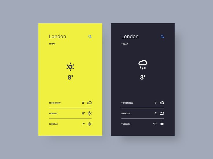 Weather App by Thomas Engebrand