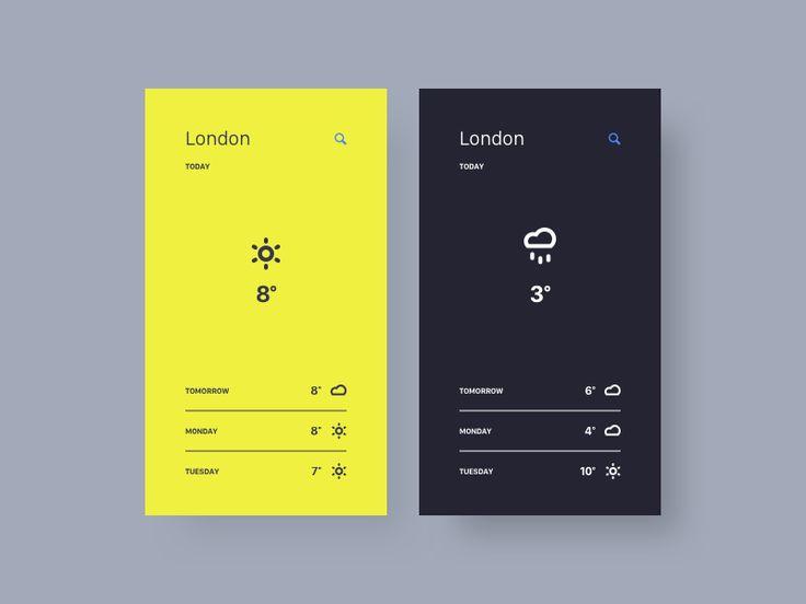 Weather App by Thomas Engebrand