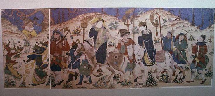 Caravan By Muhammad Siyah Qalam (Muhammad of the Black Pen)