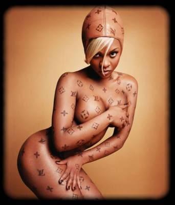 Lil Kim  body branded