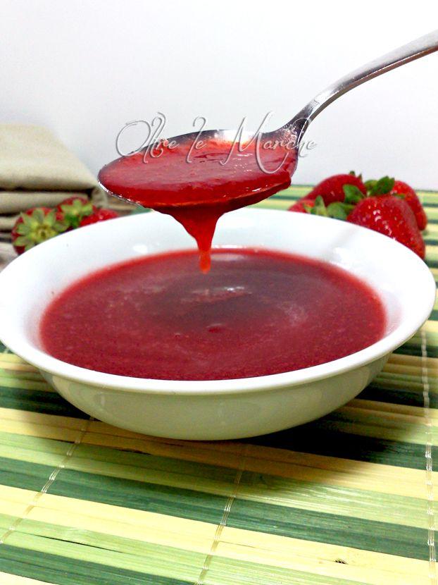 Glassa alle fragole, dolci ricette