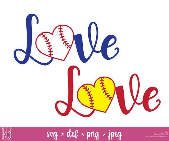 Download This love baseball svg / love softball svg with baseball ...