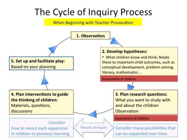 the cycle of inquiry system