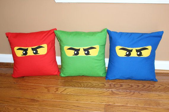 Red Ninjago 12x12 Pillow Case By Creativekryptonite On