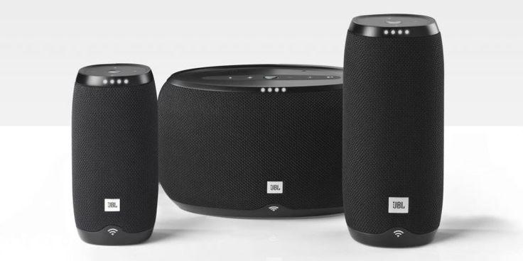 JBL lança linha de alto-falantes com Google Assistant