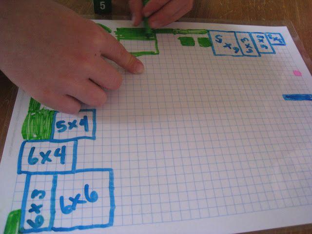 Multiplication Grid Game- Teach Beside Me