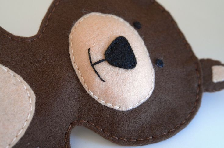 Bear puppet  - puppets for children, hand puppets, kids toy, puppet theatre, puppetry  - by FeltforAdults on Etsy