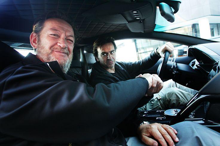 Valentino Balboni. Chief test driver of Lamborghini. A living legend.