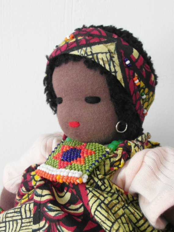 African doll....