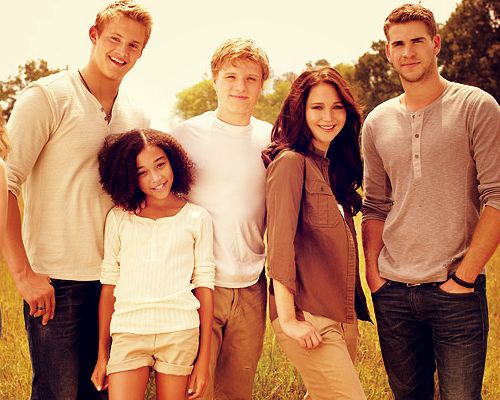 I Love the books, but these three boys, Alexander Ludwig, Liam Hemsworth, and Josh Hutcherson are why I'm going to see the movie<3