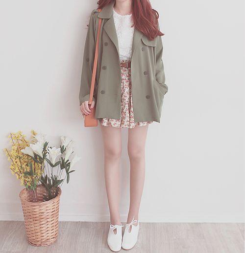 Korean Fashion Girl Fashion Outfit K Fashion Cute Kfashion Too Skinny Ulzzang Outfits