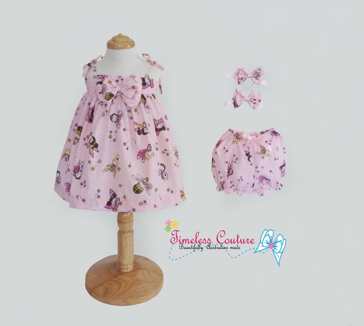Getting ready for summer, here one of many  LITTLE FAIRIES Fairies summer dress, made in a soft cotton fabric. Hand made with love by Timeless Couture  a.b.timelesscouture@gmail.com  www.facebook.com/a.b.timelesscouture