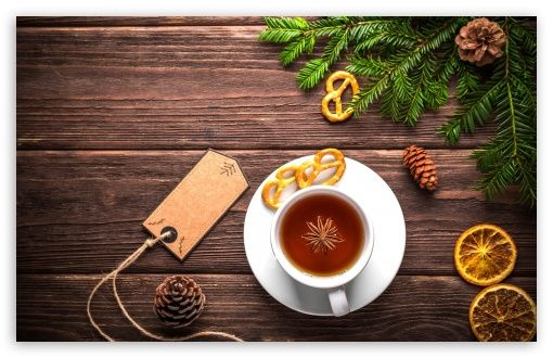 Christmas Cup of Tea wallpaper