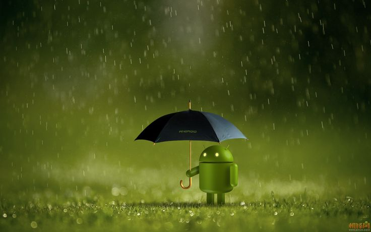 android in the rain