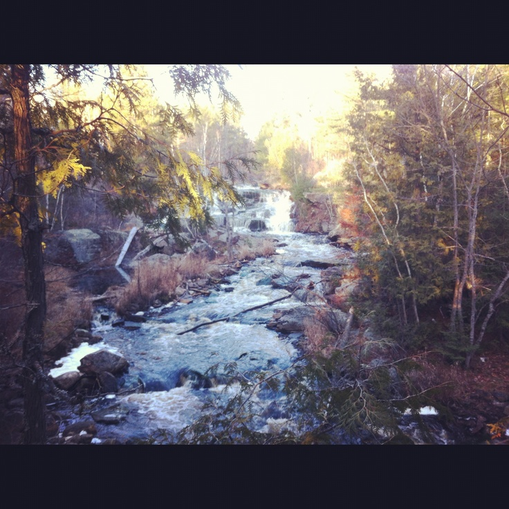 Every teardrop is a waterfall. #DuchesnayFalls #NorthBay #Ontario