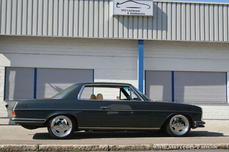 Mercedes benz w114 280c coupe on amg aero i wheels 02 for Google mercedes benz